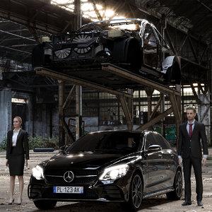 c car 3D model