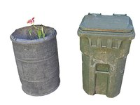 litter bin barrel mexico 3D