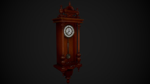 asset clock wall model