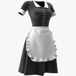 cleaning lady uniform model