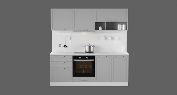 3D kitchen 2100 model