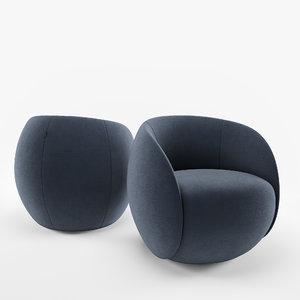 3D armchair dot model