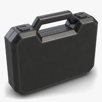 black plastic case 3D model