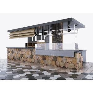 cafes bar model