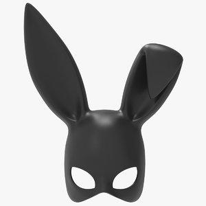 3D rabbit mask
