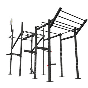 3D equipped crossfit cage
