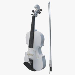 3D violin viola instruments