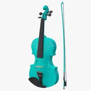 violin viola instruments model