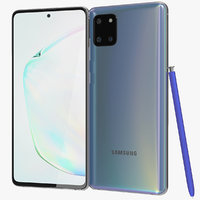 3D model realistic samsung galaxy note10