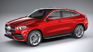 3D mercedes-benz gle coupe