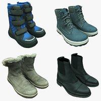 3D scan shoe boots