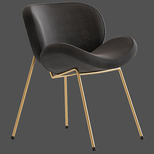 3D cult furniture shelton chair model