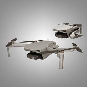 3D dji mavic mini model