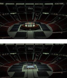 arena ufc 3D model