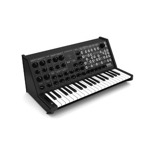 3D synthesizer korg ms20 model