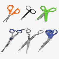 scissors 2 3D model