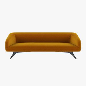 3D fifth avenue sofa model