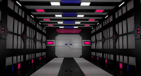 sci fi tunnel model