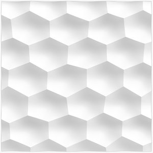 wall panel honeycomb middle 3D model