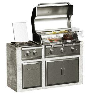 grill saber 3D model