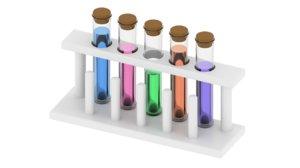test tube rack 3D model