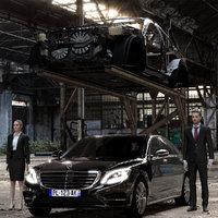 3D model s class car