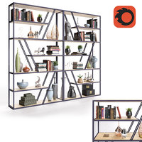 3D decor rack shelving