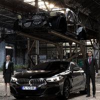 3D bmw car 850i