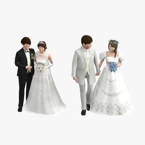 01 wedding 3D