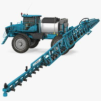 farm sprayer generic 3D model