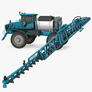 farm sprayer generic 3D model