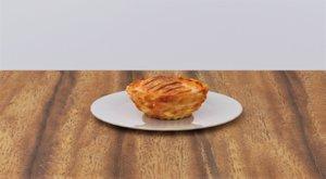 3D fruit stuffed pie