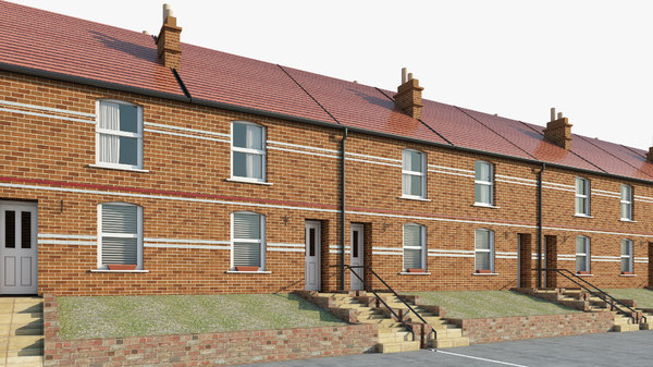 british house 3D