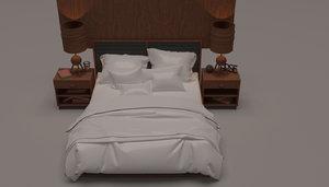 furniture furnishings 3D model