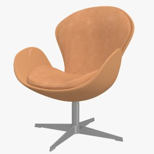 3D chair seat furniture model