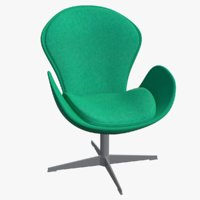 3D chair seat furniture