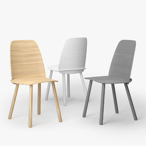 muuto nerd chair 3D model