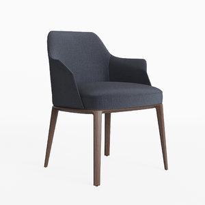 poliform sophie grace chair model