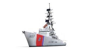 3D model coast guard