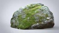 3D model rock nature stone