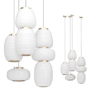 b lux misko lamps 3D model