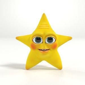 3D star toon
