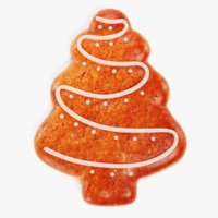 3D gingerbread tree