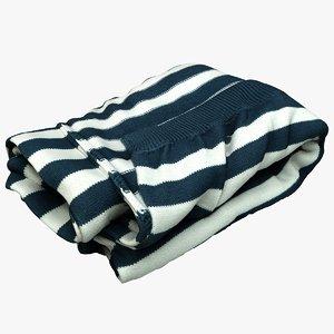 blanket cloth 3D