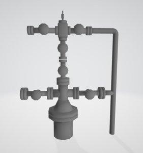 wellhead 3D