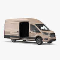 Cargo Van Generic Rigged