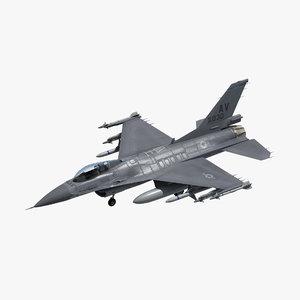 3D f16c usaf model