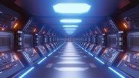 Sci fi Corridor