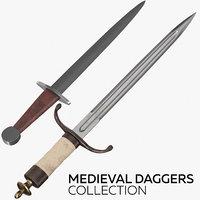 medieval daggers model