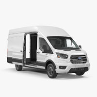 Ford Transit Cargo 2020 Rigged